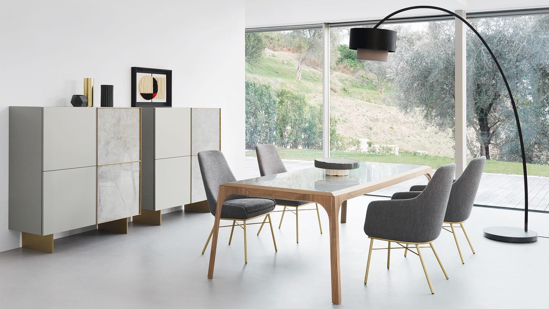 Madia Porta Tv Design.Presotto